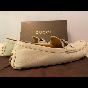 Gucci Shoes - Gucci Bamboo Horsebit driver loafer